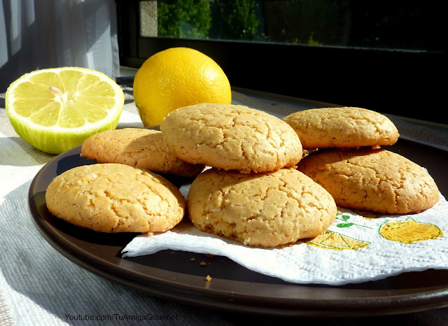 Galletas sin gluten de limon