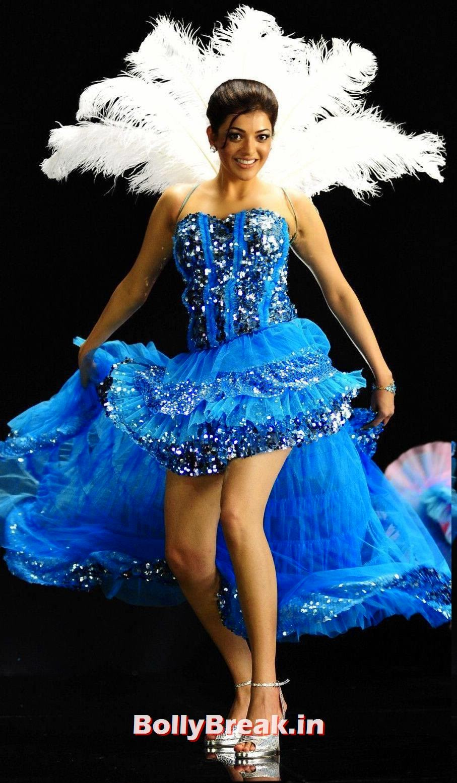 Kajal aggarwal hot hd images in blue dress latest photoshoot kajal