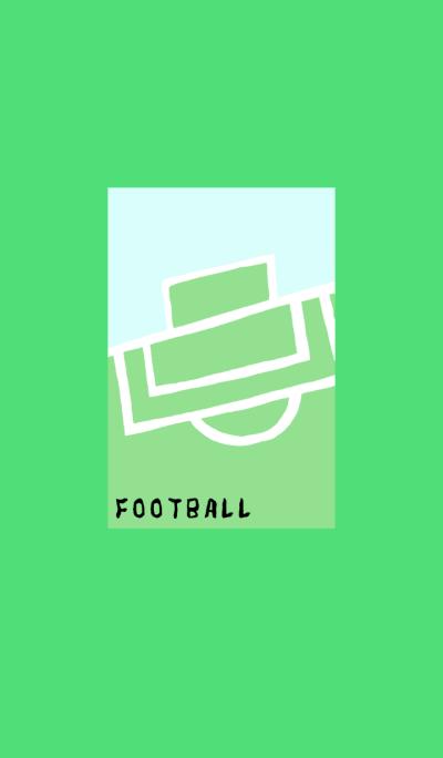 Football is fun.