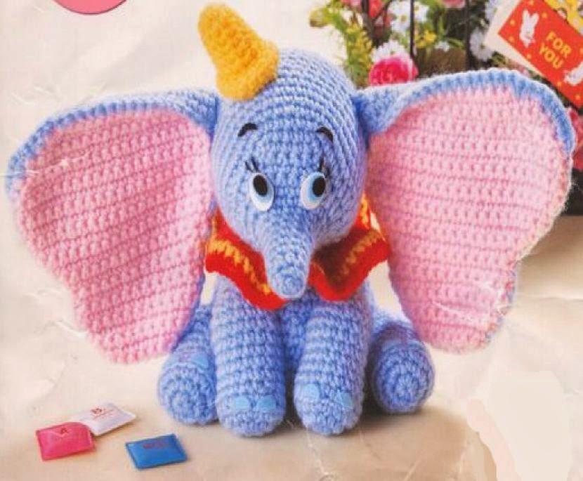 Elefante Amigurumi Em Croche - R$ 59,00 em Mercado Livre | 685x830