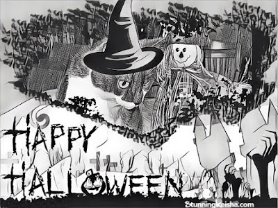 Scary Halloween Art That's Not Frightful