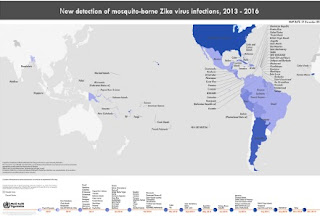 OMS   Relatório de situação Zika