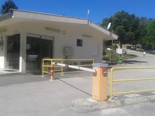 recepção Parque caravanismo Vouzela