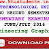 Question Paper for Engineering Graphics(BE110)-Supplementary Examination June/July 2016