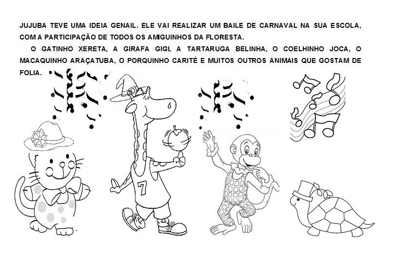 Caixinha Mágica De Ideias: O MACAQUINHO CARNAVALESCO