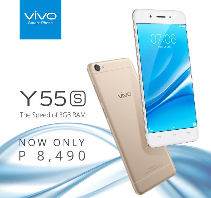 Vivo Y55s Now Only Php8,490