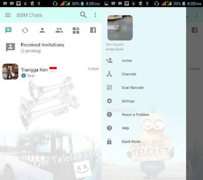 BBM Mod Om Telolet Om!  Apk Terbaru