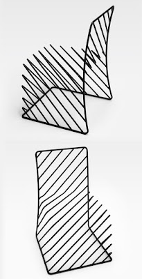 Chair Design by studio Nendo