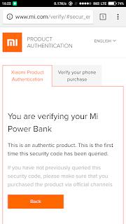Cara Membedakan Powerbank Xiaomi Asli Atau Palsu 3
