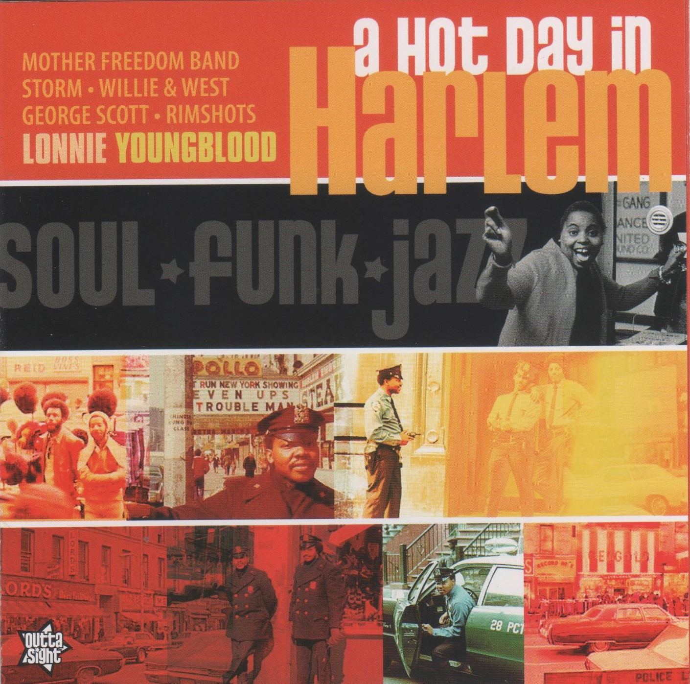 doo wop n soul oldies: a hot day in harlem