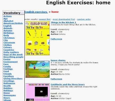 http://www.englishexercises.org/buscador/buscar.asp?nivel=any&age=0&contents=home