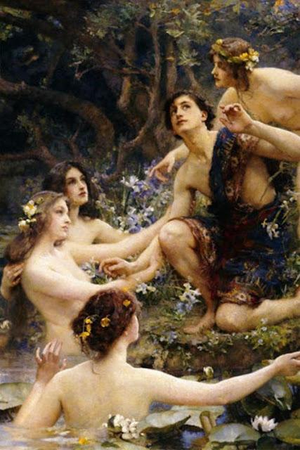 """""""Hylas & Water Nymphs""""  Henrietta Rae"""