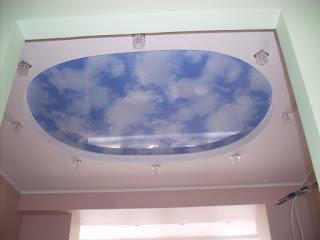 Натяжной потолок с фотопечатью - Гулькевичи