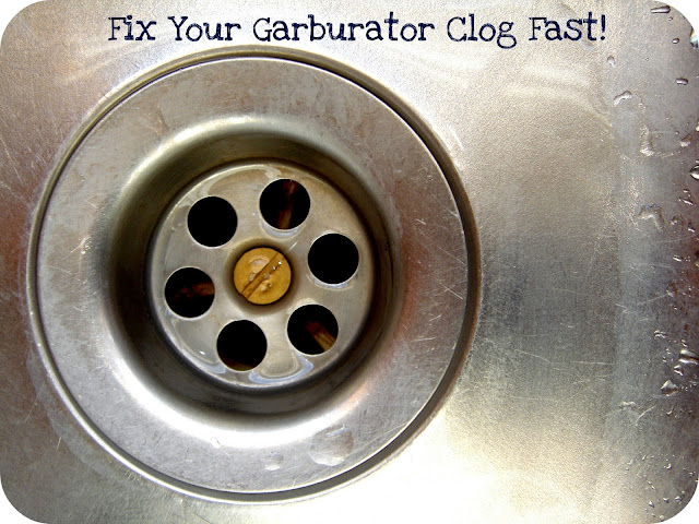 How To Unclog Your Garburator FAST