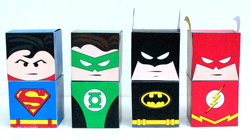 picture about Printable Superhero called Cost-free Printable Superheroes Dice Packing containers. - Oh My Fiesta! for Geeks