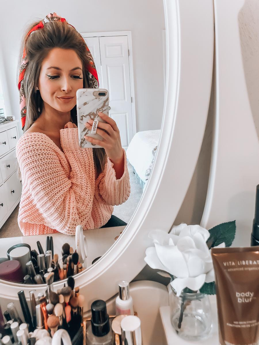 revolve pink superdown sweater