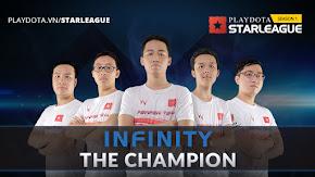 Chung kết Playdota Star League: Chức vô địch hoàn hảo của Infinity