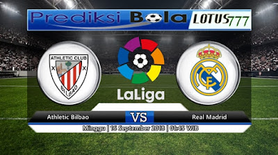 PREDIKSI ATHLETIC BILBAO VS REAL MADRID 16 SEPTEMBER 2018