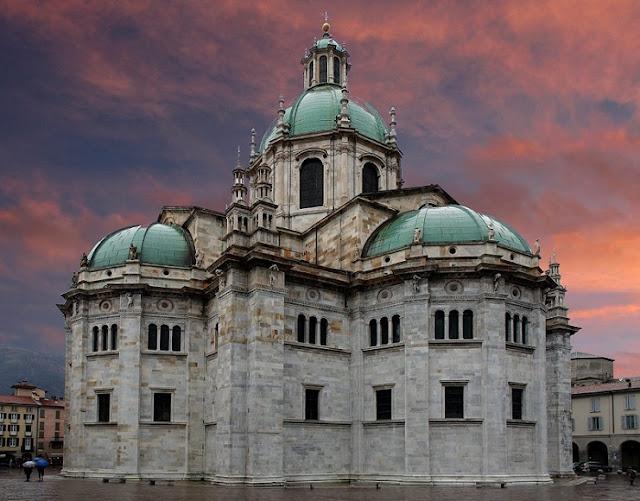 Catedral di Como na Itália