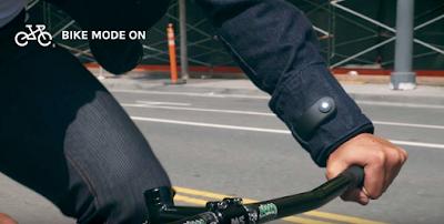 Google Tengah Mengembangkan Jaket Pintar Untuk Pengendara Sepeda