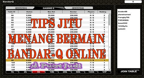 Putri Judi : Tips Bermain BandarQ Online
