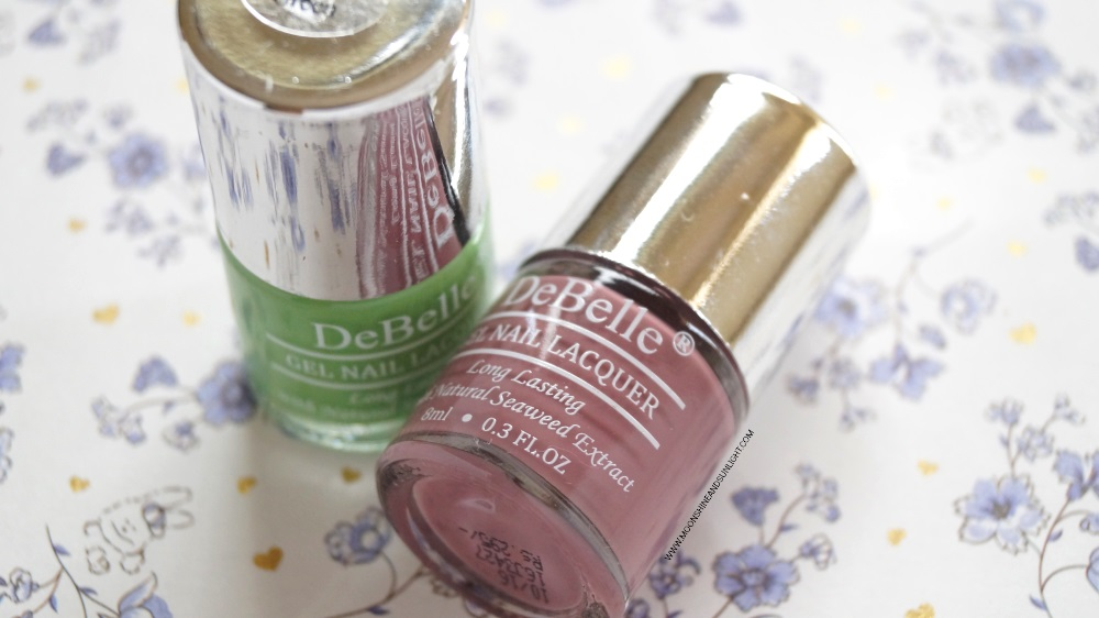 DeBelle Cosmetics Nail Polish | Review & Swatch , Indian Nail art blogger