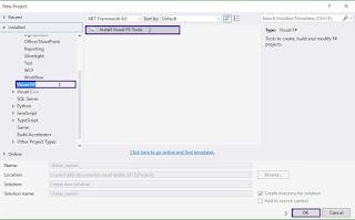 Installing Visual F# Tools