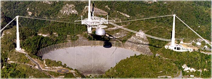 furacão maria danifica o observatório do arecibo