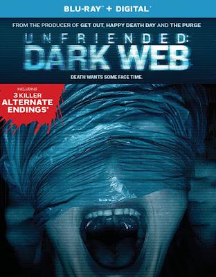Unfriended Dark Web Blu Ray