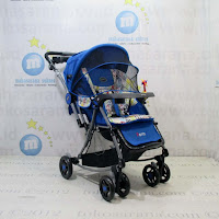 Kereta Bayi Pliko PK399 Paris Rocker-Parent Tray-Kanopi 3 Layer