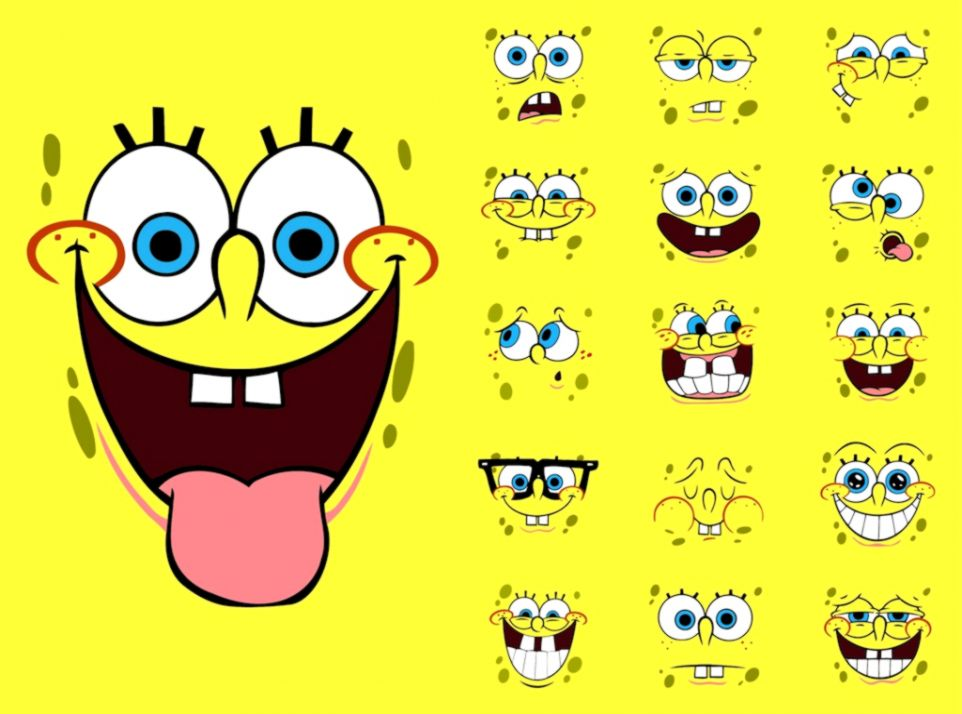 Spongebob Squarepants Cartoon Wallpaper Wallpapers Abstract