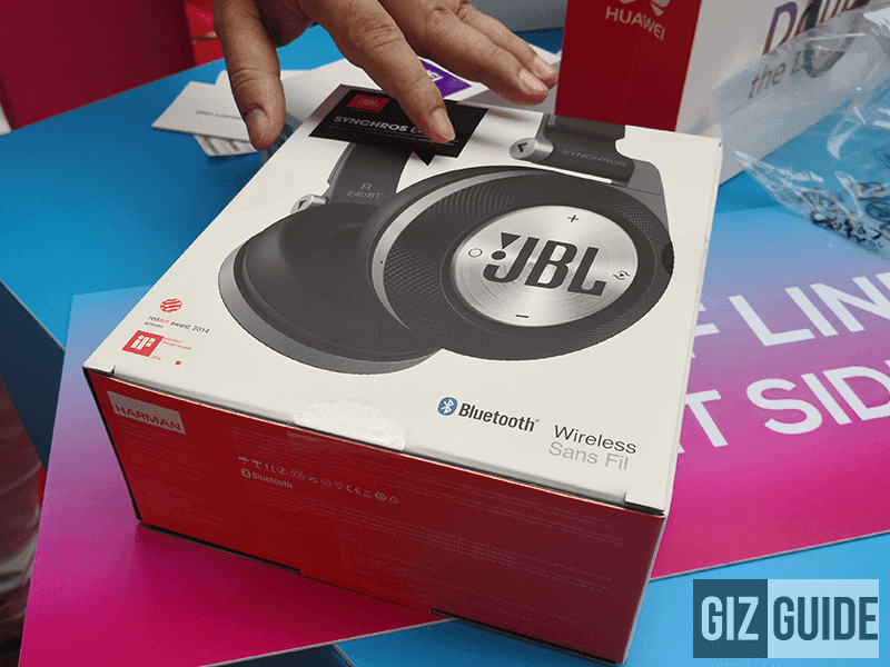 FREE JBL E40BT headphones