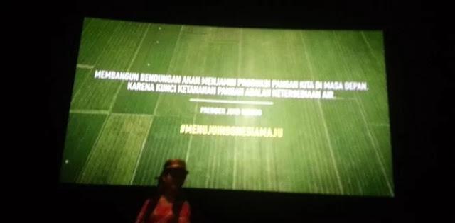 Iklan 'Kesuksesan' Jokowi Sasar Bioskop, Warganet Kesal