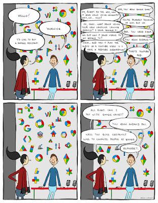 Bingung Dengan Banyaknya Layanan Terbaru Dari Google? Komik Ini Bisa Menjelaskannya