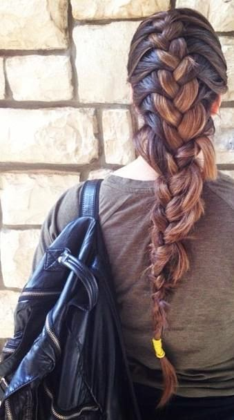 This Is A French Braid S World The Haircut Web