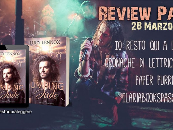 """Review Party: """"Jumping Jude"""" di Lucy Lennox"""