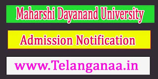 Maharshi Dayanand University Various Language Courses Aug 2016 Admission Notification