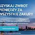 Wydawaj i otrzymuj zwrot pieniędzy za zakupy z Refunder.pl