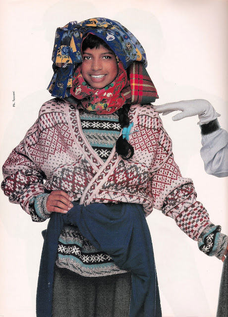 knitGrandeur: 80's Inspired FairIsles- Original 80's Benetton