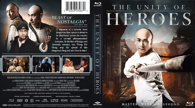 The Unity of Heroes Bluray Cover