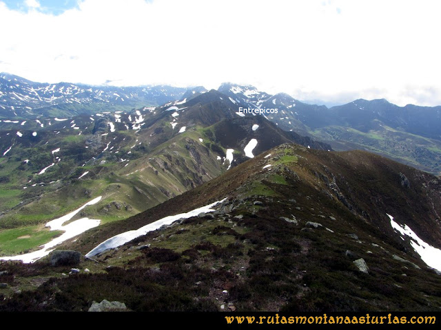 Ruta Les Rapaines, Lago Ubales, Cascayón: Desde el Cascayón al Entrepicos