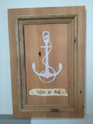 DIY Anchor Silhouette