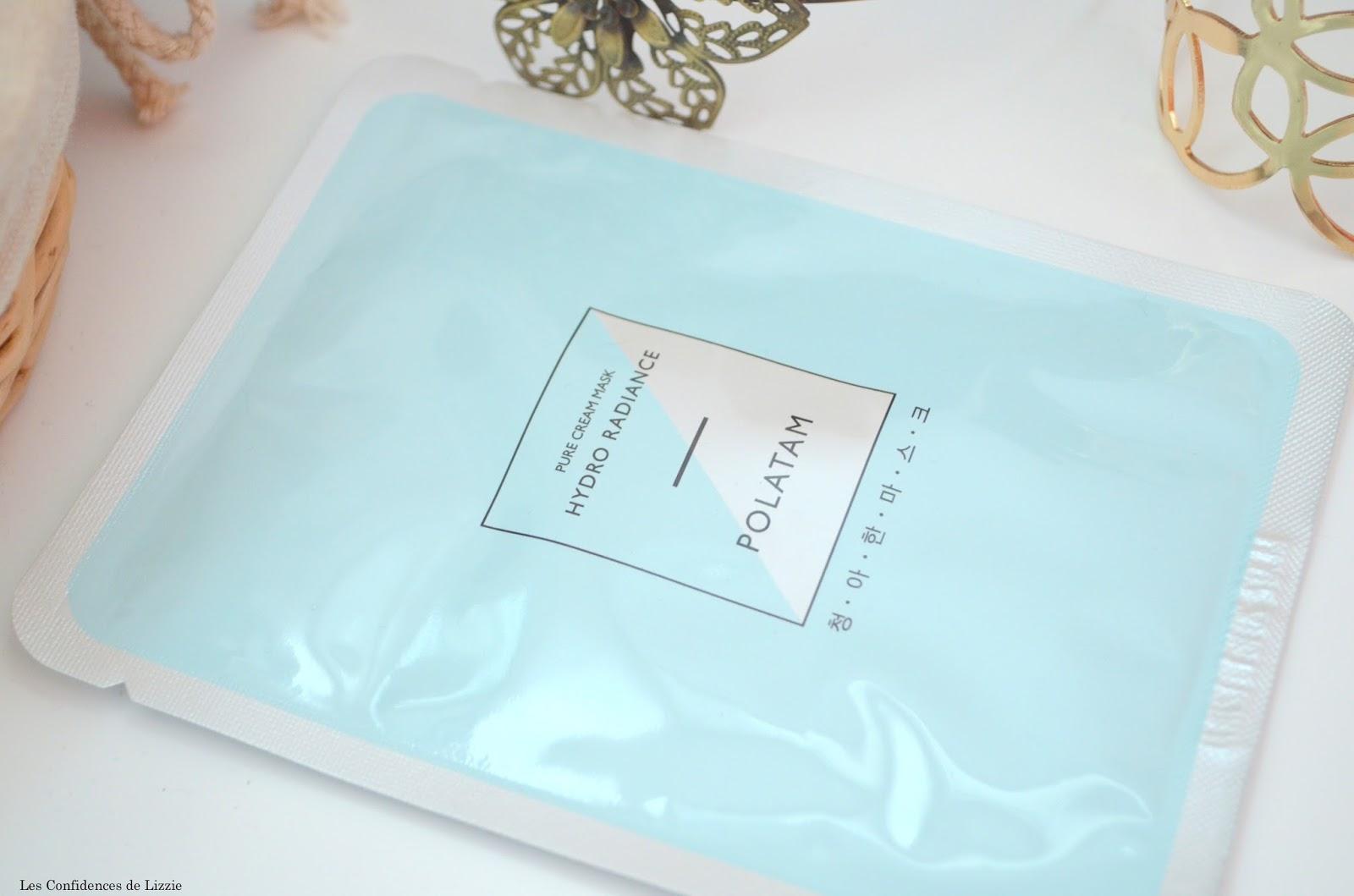 masque - masque de beaute - masque en tissu - masques polatam - masque hydratant - cellulose