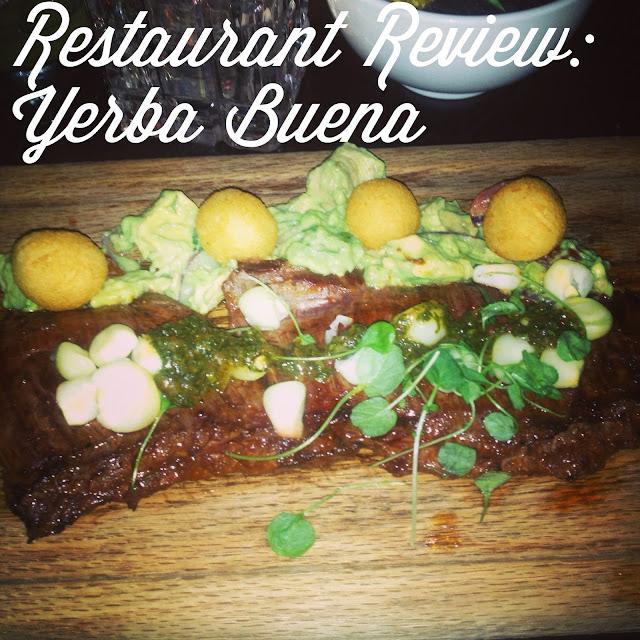 Eating Fabulously, Christopher Stewart, Yerba Buena restaurant