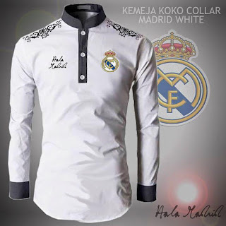Baju Koko Muslim Bola Real Madrid
