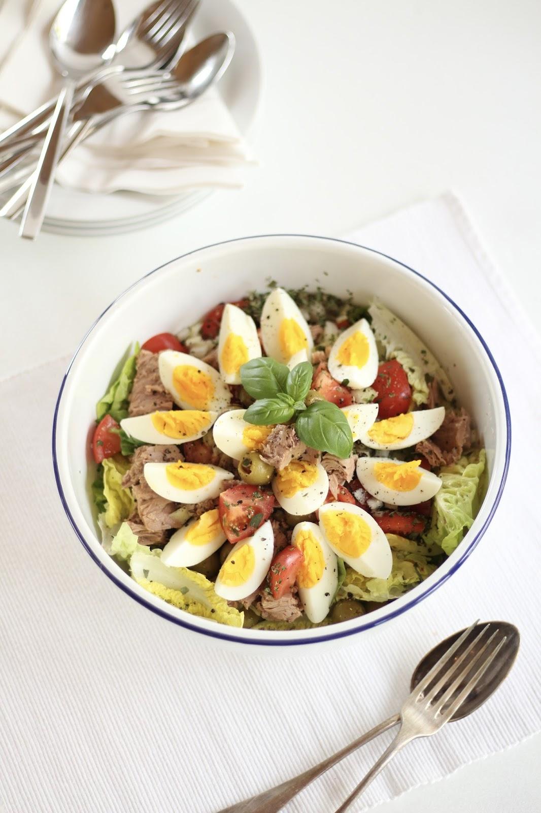 Salat Nizza - sieht schon so toll aus, ist super schnell gemacht und schmeckt einfach großartig