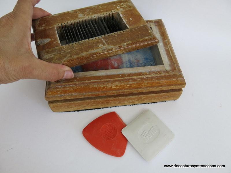 afilador de tizas de sastre