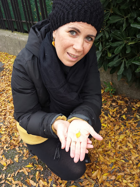 foglie di fimo autunno orecchini alberta bijoux