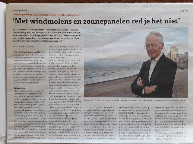 Klimaatparadox, Eugene de Kok, De Bode