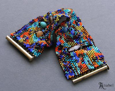 украшения ручной работы купить в интернете браслет из бисера цена